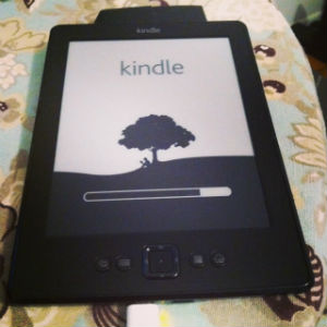 The Kindle, a gift from e to me